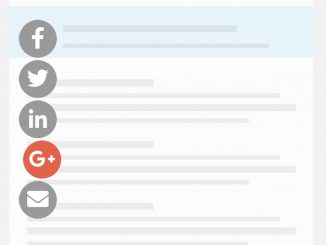 Side Sticky Social Media Share Buttons with jQuery