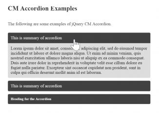 jQuery Accordion Plugin Expand all / Open one at a Time