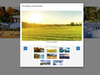 Bootstrap Lightbox Multiple Images - Modal Gallery