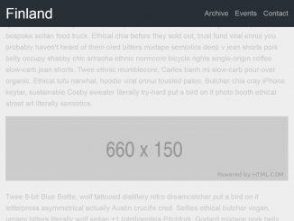 Animated Sticky Header on Scroll with CSS and jQuery