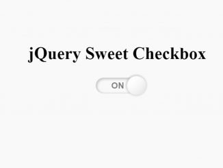 HTML Toggle Switch with Text - jQuery Sweet Checkbox