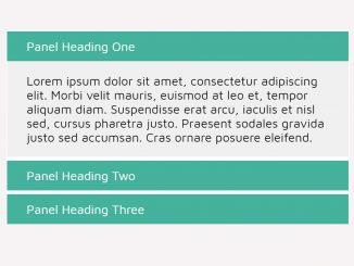 Responsive Accordion with jQuery and CSS3 - Accordable.js