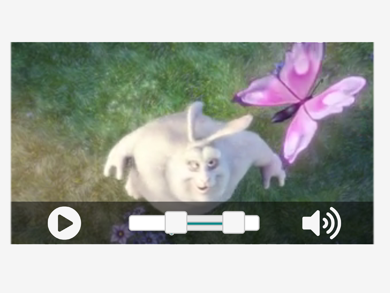 jQuery Simple Video Player with Custom Range - RangePlayer.js