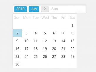 jQuery Datepicker for Bootstrap - WBN Datepicker