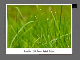jQuery Lightbox with Caption Text and Image