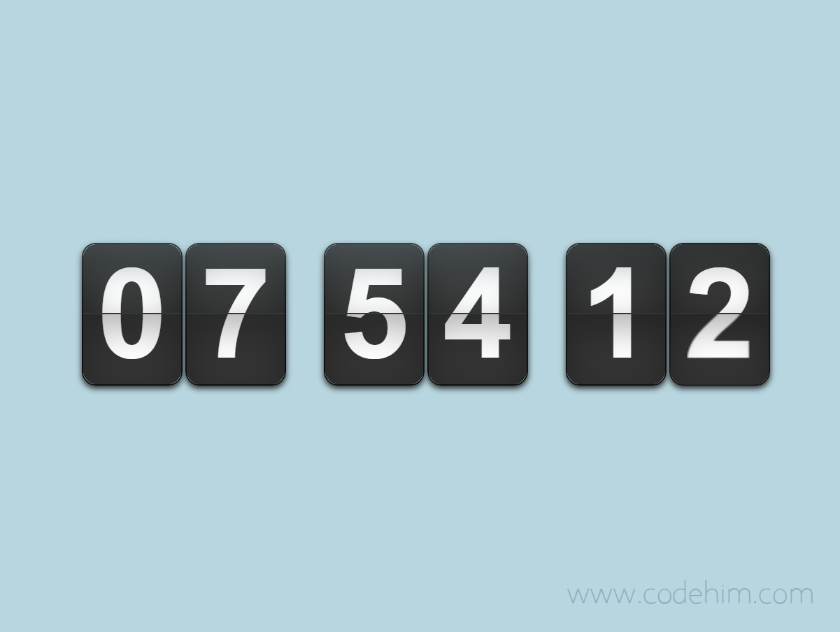 jQuery Countdown / Count up Timer with Callback - flipTimer