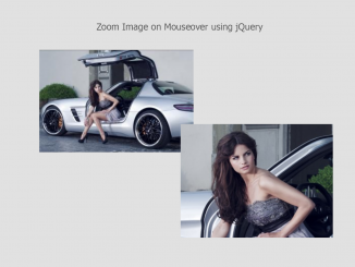 Zoom Image on Mouseover using jQuery - zoomio