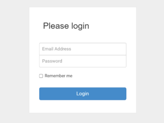 Simple Bootstrap Login Form with Demo