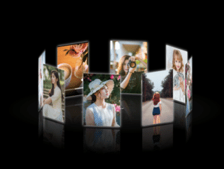 Touch Enabled 3D Photo Carousel